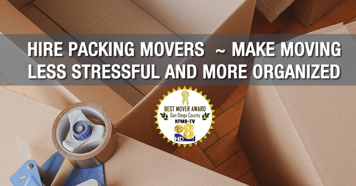 Oceanside packers - Hire Moving packers Calrsbad
